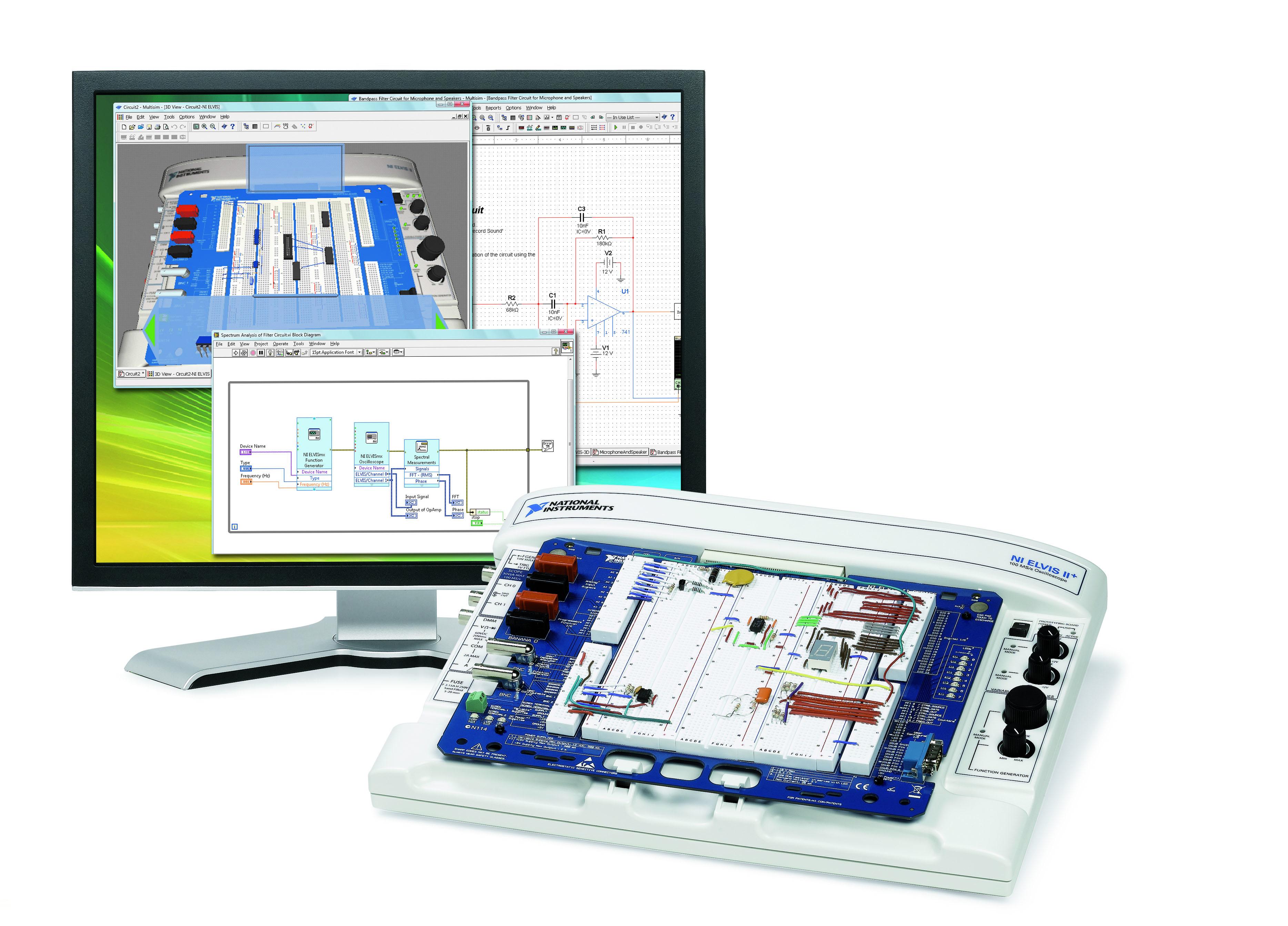 Labs For Analog And Digital Courses Using Ni Elvis Ii Photo Interrupter Circuit Logic Multisim