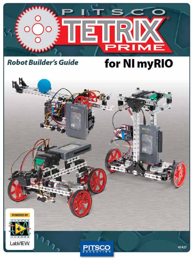 Robot Builders Guide Pitsco Tetrix Prime For Ni Myrio National